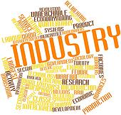 Word cloud for Industry