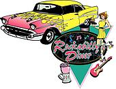 Rock and Roll Diner Design