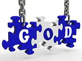 God Shows Religion Prayer Spirit And Faith