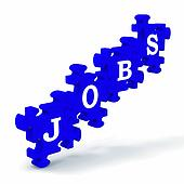 Jobs Means Work Profession Employment And Vocation