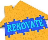 Renovate House Shows Improve And Construct