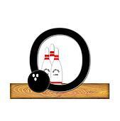 Alphabet Bowling O
