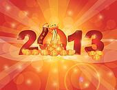 Chinese New Year 2013 Snake Bokeh