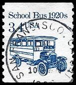 USA - CIRCA 1985 School Bus