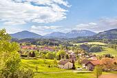 Outskirts of city Salzburg
