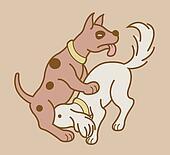 Erotic couple dogs version 5