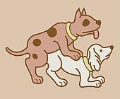Erotic couple dogs version 6