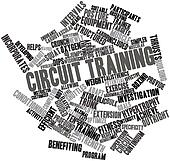 Word cloud for Circuit training