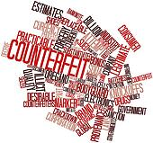 Word cloud for Counterfeit