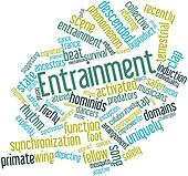 Word cloud for Entrainment