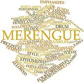 Word cloud for Merengue