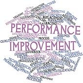 Word cloud for Performance improvement