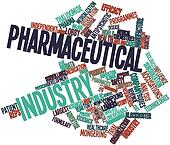 Word cloud for Pharmaceutical industry