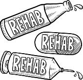Addiction Recovery Drug and Alcohol Clip Art