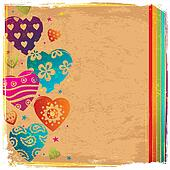 Retro Color Herat background