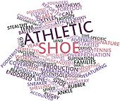 Word cloud for Athletic shoe