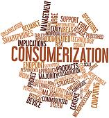 Word cloud for Consumerization