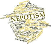Word cloud for Nepotism