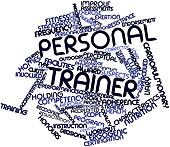 Word cloud for Personal trainer