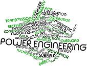 Word cloud for Power engineering