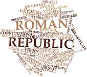 Word cloud for Roman Republic