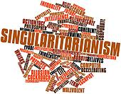 Word cloud for Singularitarianism