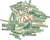 Word cloud for Use tax