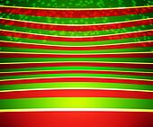 Red Christmas Stage Background