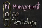 MOT acronym Management Of Technology