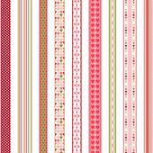 Set of hand drawn lace braid borders.