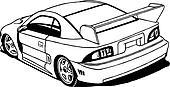 Winged Street Racer