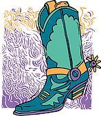 Cowboy boot design