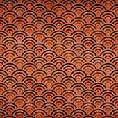 Vintage oriental style circles pattern