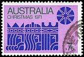AUSTRALIA - CIRCA 1971 Three Kings
