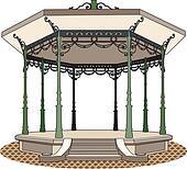 Bandstand romantic