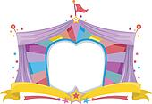 Circus Tent Banner