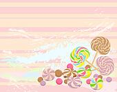 sweet candies background