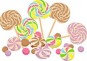 sweet lollipops