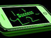 Success On Smartphone Shows Progression