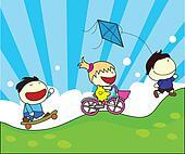 children cartoon activities