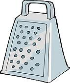 Grater Clip Art - Royalty Free - GoGraph