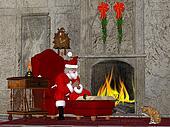 Santa and the Naughty and Nice Book
