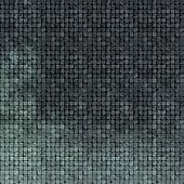 3d tile mosaic wall floor in gray blue grunge stone