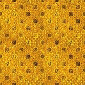 Seamless Shiny Gold Polka Dot
