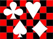 The playing card suits