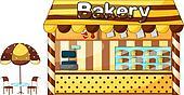 A bakery shop
