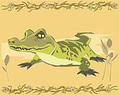 Alligator illustrative
