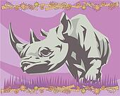 Rhino Illustrative