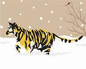Tiger Illustrative