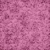 Pink Floral Tapestry Pattern